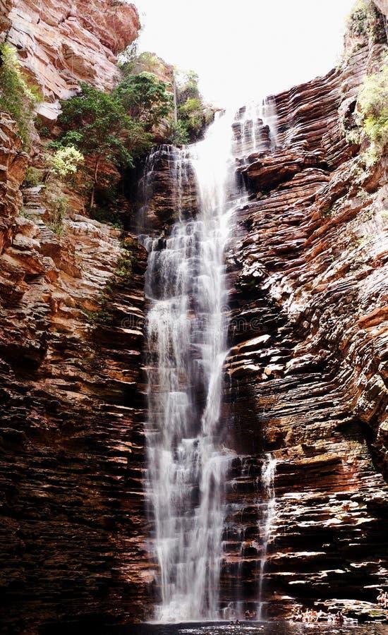 Cachoeira robi Buracão obrazy royalty free