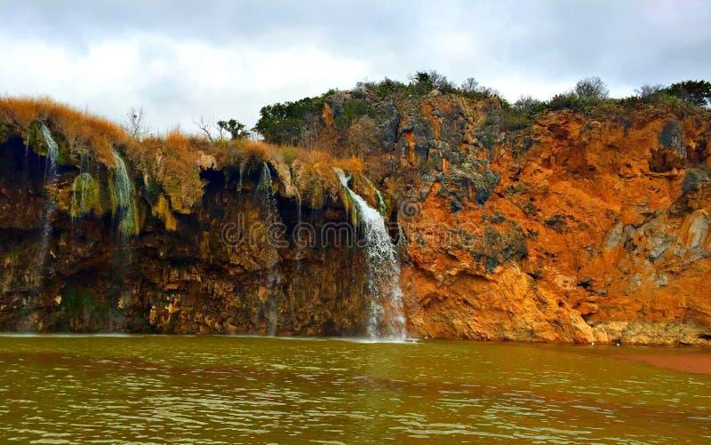 Cachoeira sobre o Rio Colorado imagem de stock royalty free