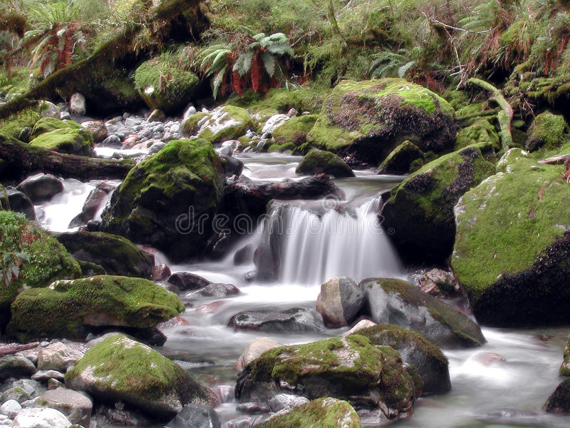 Cachoeira sonhadora foto de stock royalty free