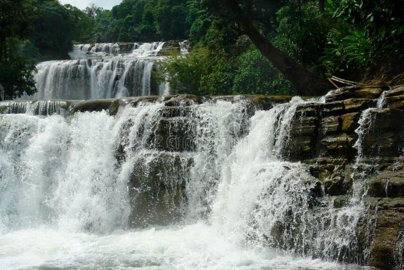 Cachoeira tropical. fotografia de stock royalty free