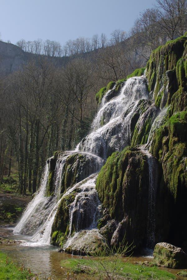 Cachoeira verde imagem de stock royalty free