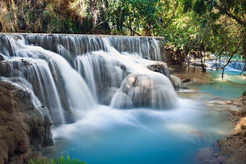 Cachoeiras de Ásia imagem de stock royalty free