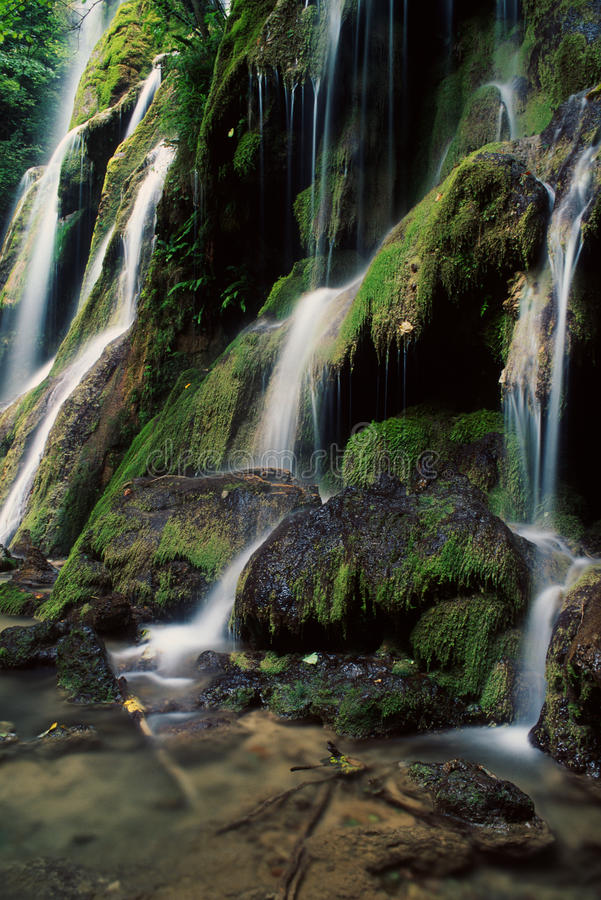 Cachoeiras de Beu, Romania foto de stock royalty free
