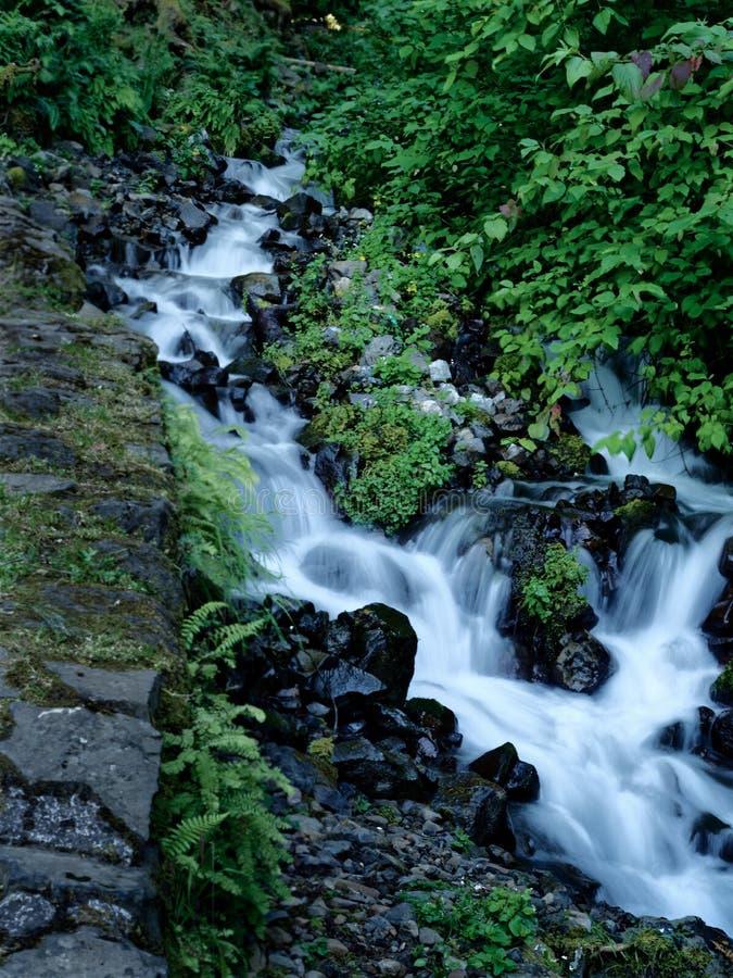 Cachoeiras de conexão em cascata foto de stock royalty free