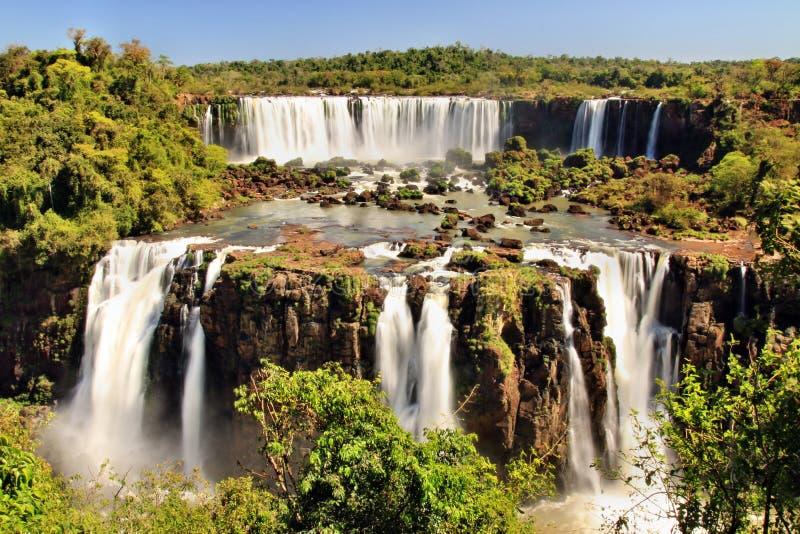 Cachoeiras de Iguazu foto de stock