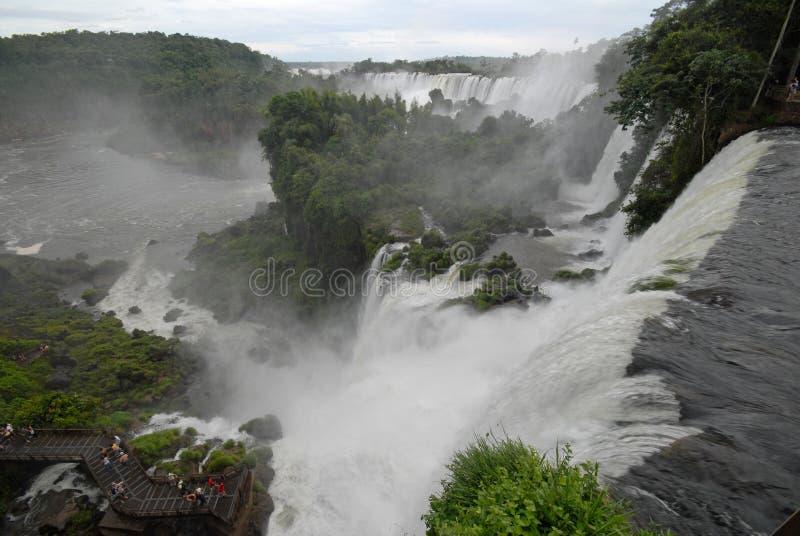 Cachoeiras de Iguazu - Argentina fotografia de stock