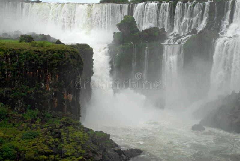 Cachoeiras de Iguazu - Argentina. foto de stock