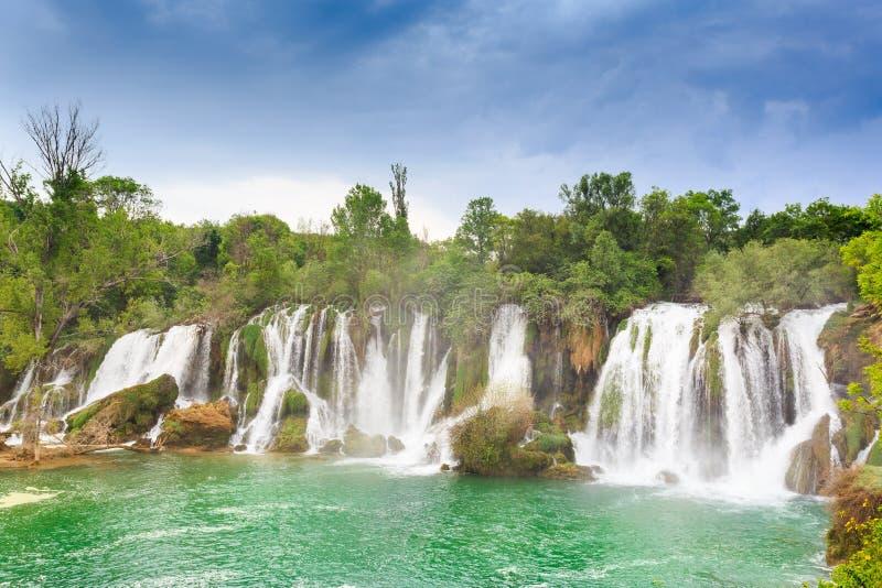 Cachoeiras de Kravica fotografia de stock royalty free