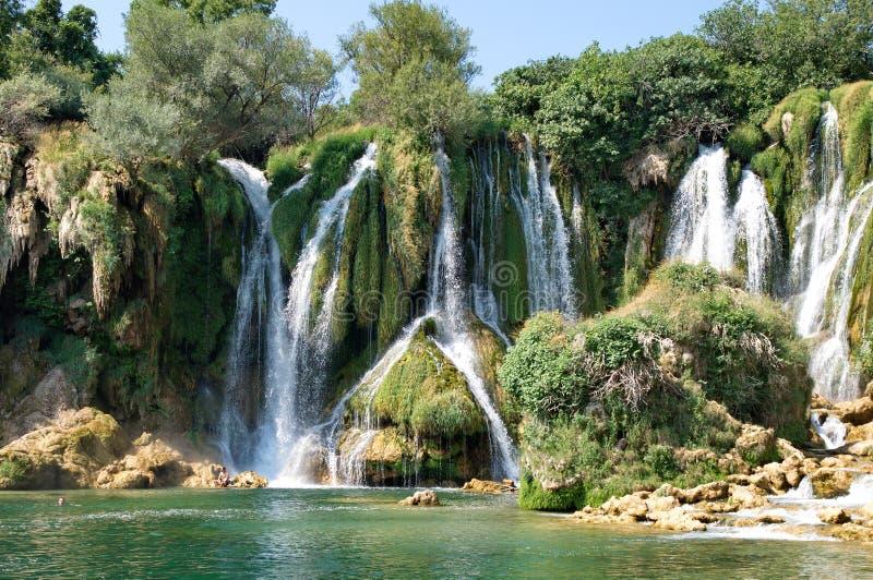 Cachoeiras de Kravice foto de stock royalty free