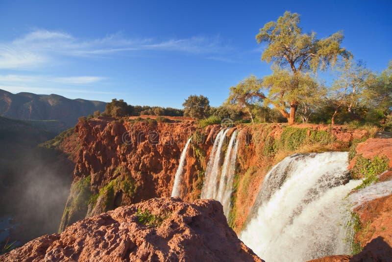 Cachoeiras de Ouzoud, Marrocos (2) imagem de stock royalty free