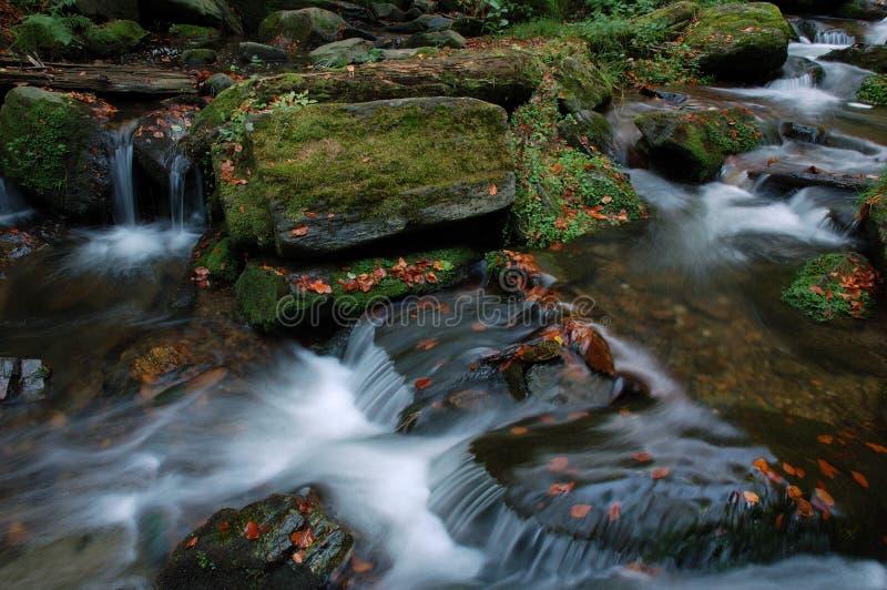 Cachoeiras de Resov fotografia de stock