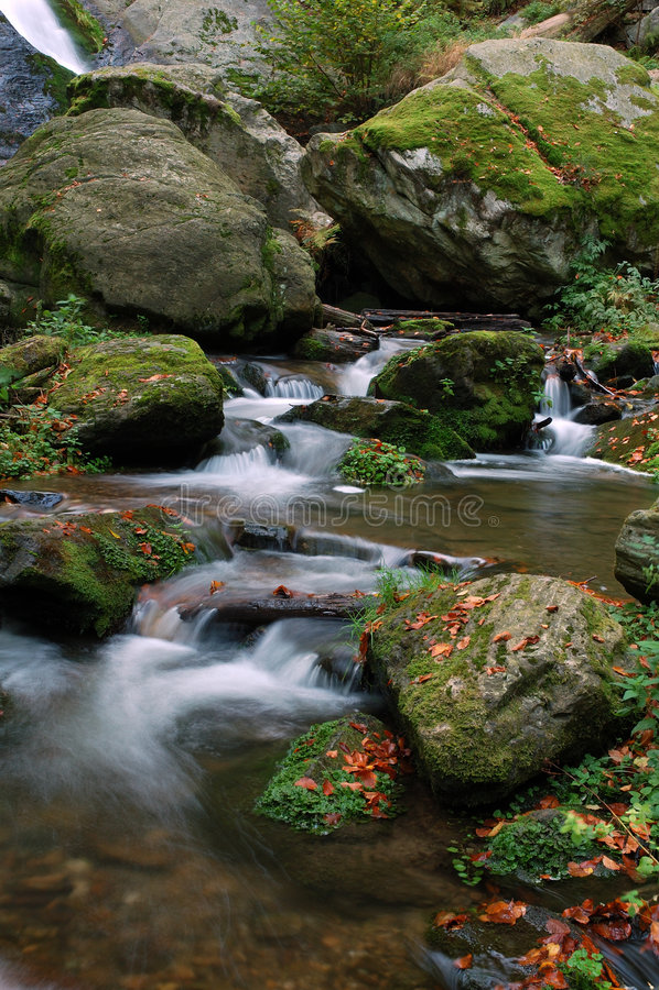 Cachoeiras de Resov imagem de stock royalty free