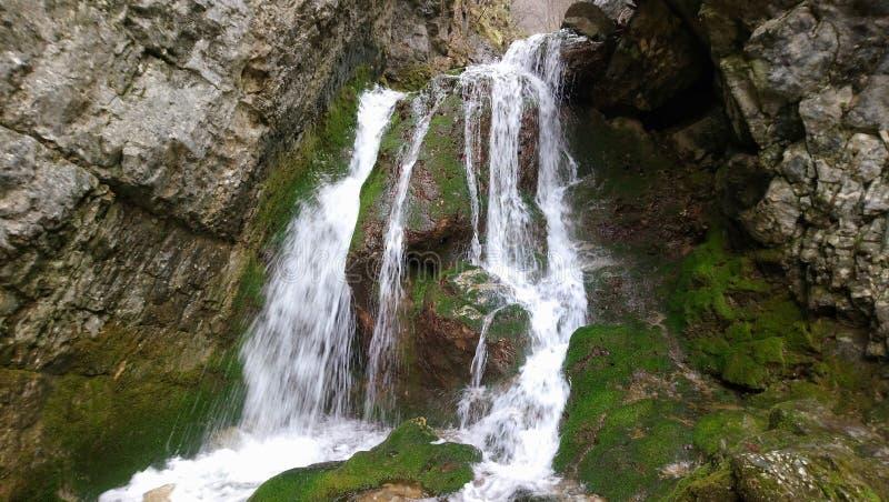 Cachoeiras do kamak de Borov fotografia de stock royalty free