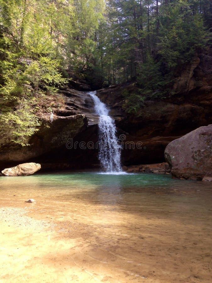 Cachoeiras e córregos fotografia de stock royalty free