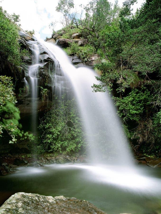 Cachoeiras em África do Sul fotografia de stock royalty free