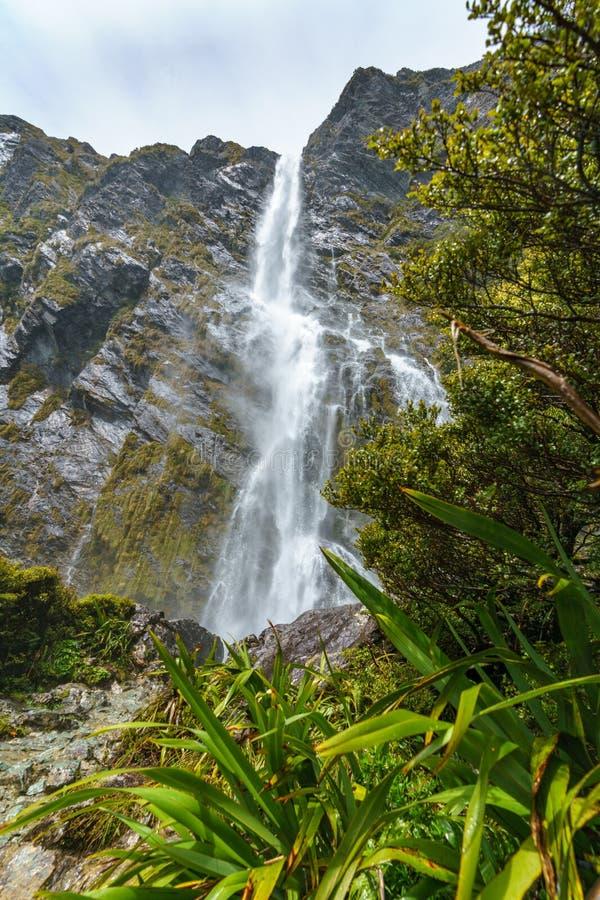 Cachoeiras poderosas, quedas do earland, southland, Nova Zelândia 3 foto de stock