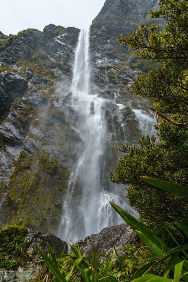 Cachoeiras poderosas, quedas do earland, southland, Nova Zelândia 6 imagens de stock royalty free