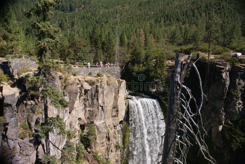 Cachoeiras, ponto de vista fotografia de stock