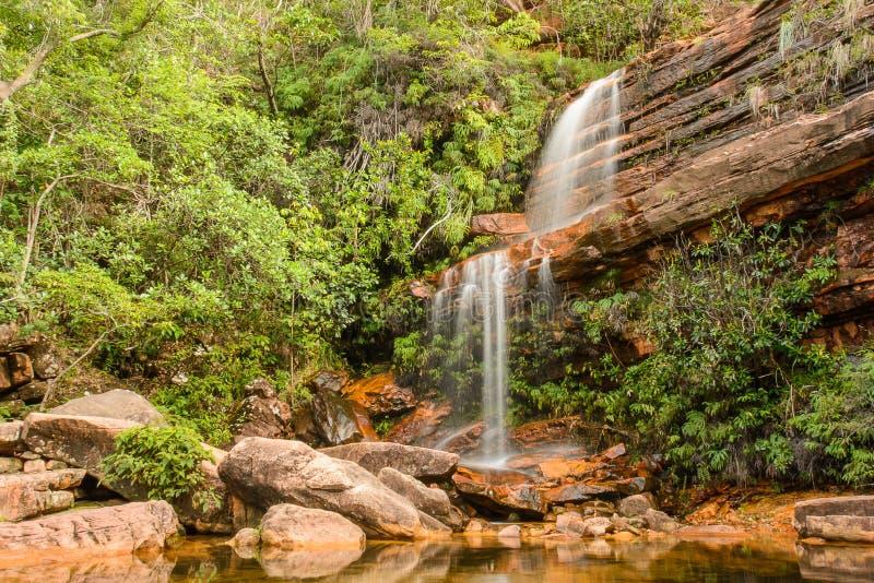 Cachoeirinha (pequeña cascada) fotografía de archivo libre de regalías