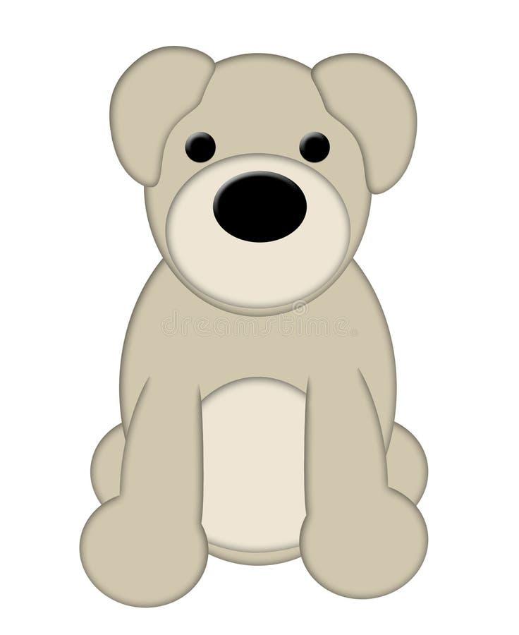 Cachorrinho do urso de peluche fotos de stock royalty free
