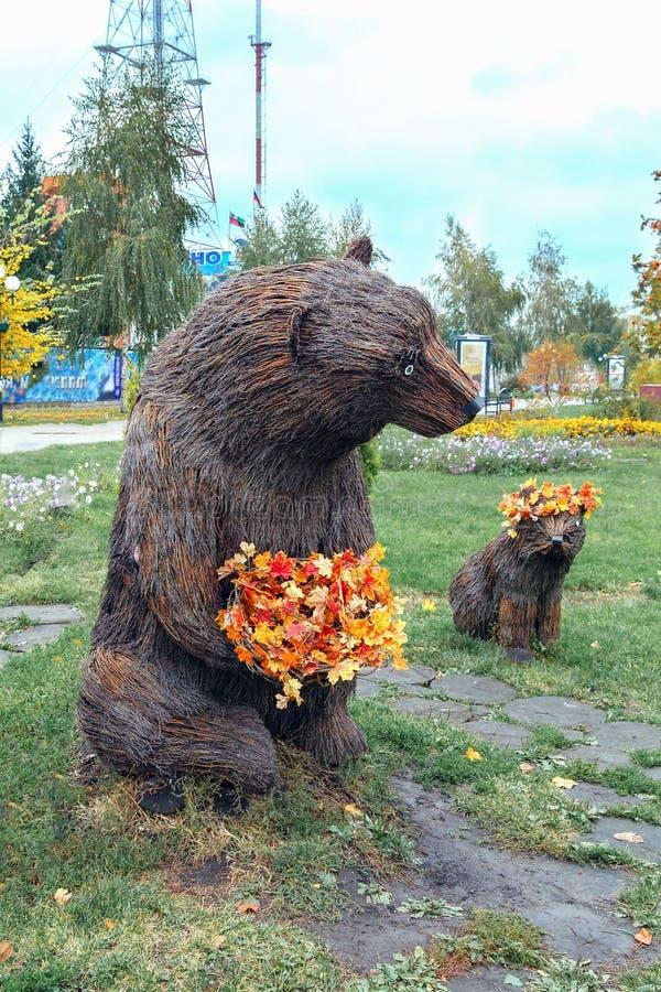 cachorro del Ella-oso y de oso fotos de archivo libres de regalías