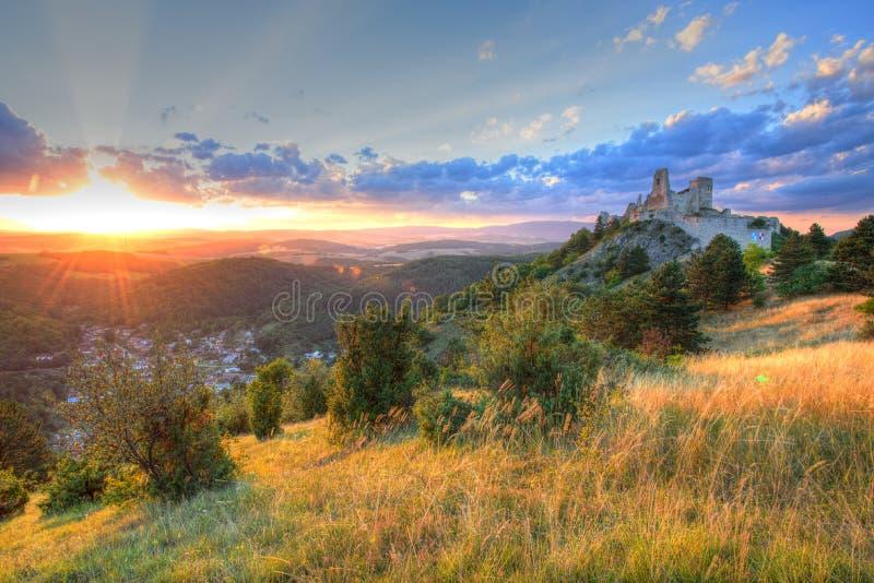 Cachtice Castle στοκ φωτογραφία με δικαίωμα ελεύθερης χρήσης