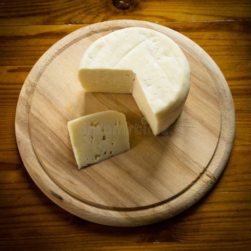 Caciotta, queijo italiano fotos de stock royalty free