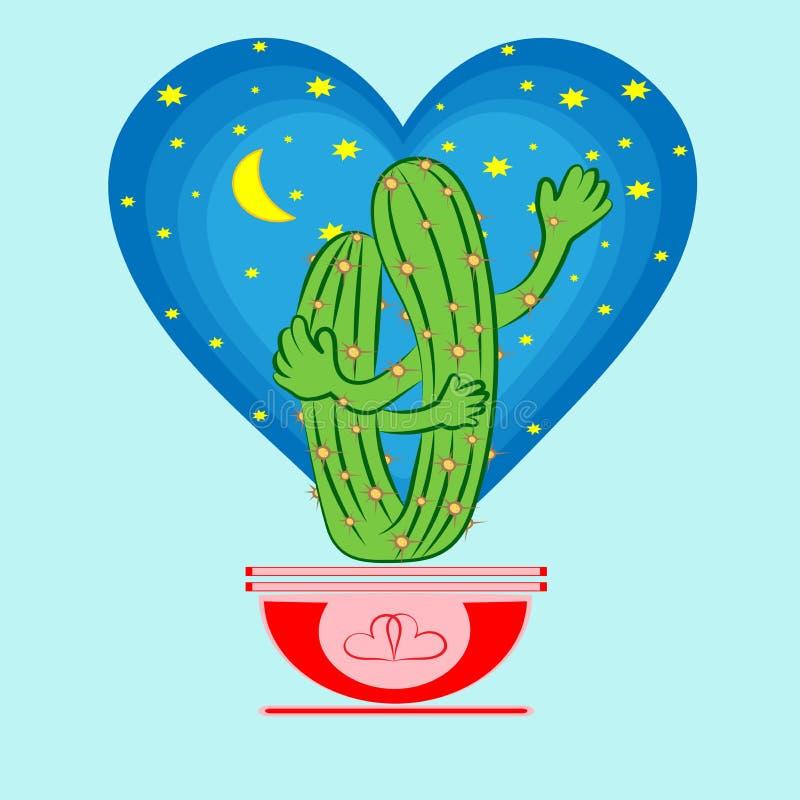 Cacti_lovers libre illustration
