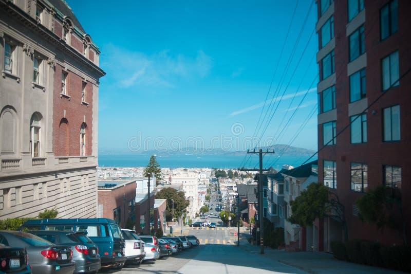 Cacto na rua em torno de San Diego, Califórnia Califórnia é conhecida com um bom se localizado no Estados Unidos da América imagem de stock royalty free