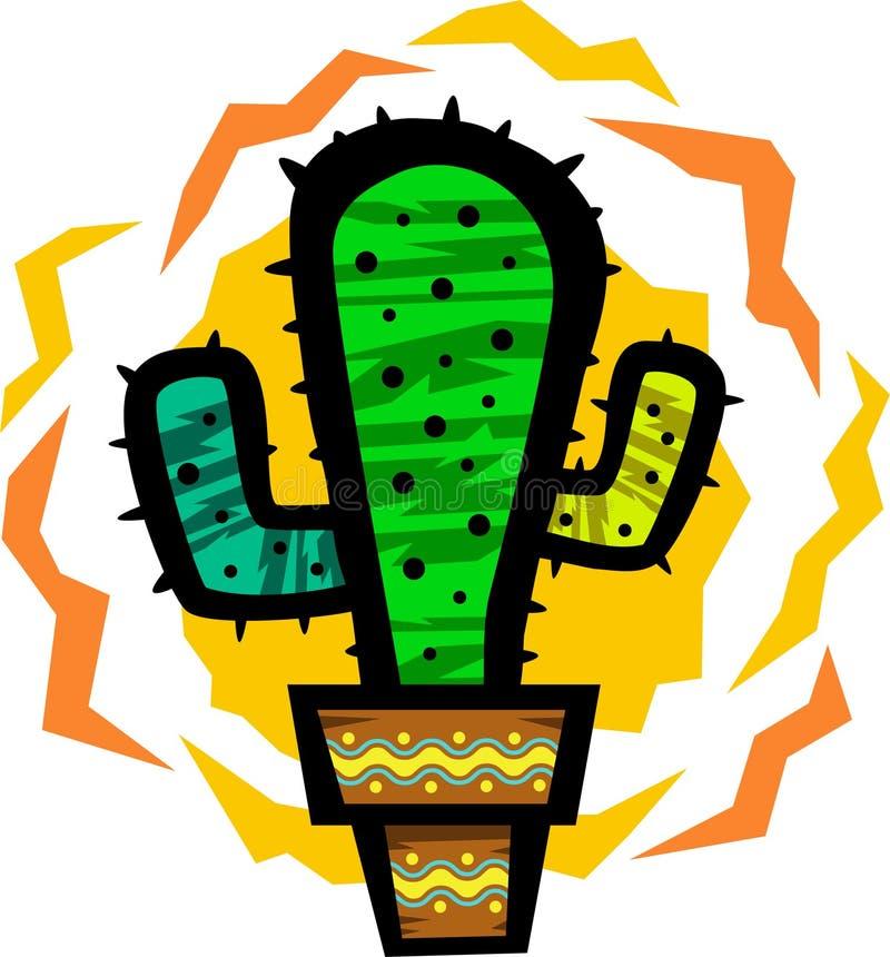 Download Cactus stock illustration. Image of houseplant, texas - 15965401