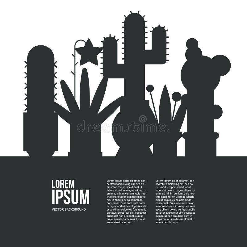 Cactus vector illustratie