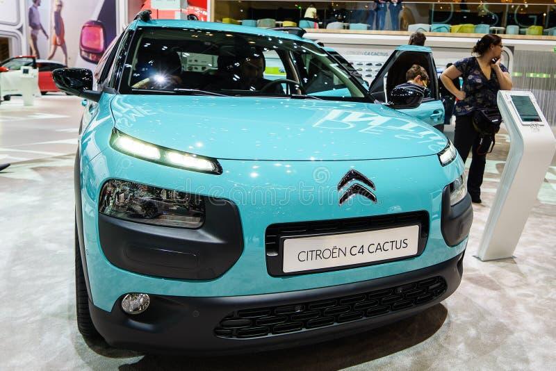 Cactus di Citroen C4, salone dell'automobile Geneve 201 fotografie stock libere da diritti