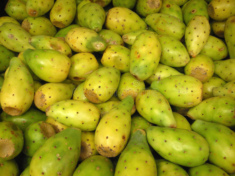 Cactus fruit for Sale [Tuna] royalty free stock photo