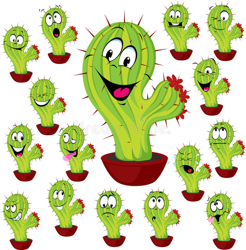 Download Cactus Plant Vector Illustration Stock Vector - Image: 41002541