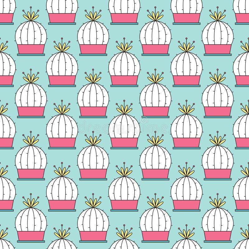 Free Cactus Seamless Pattern Royalty Free Stock Image - 92864246