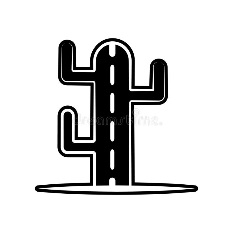 Cactuspictogram Element van dia DE muertos voor mobiel concept en webtoepassingenpictogram Glyph, vlak pictogram voor websiteontw vector illustratie