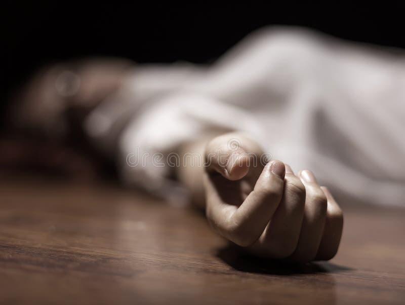 Cadáver imagen de archivo
