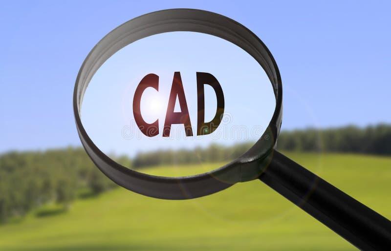 Cad计算机辅助设计 免版税库存照片