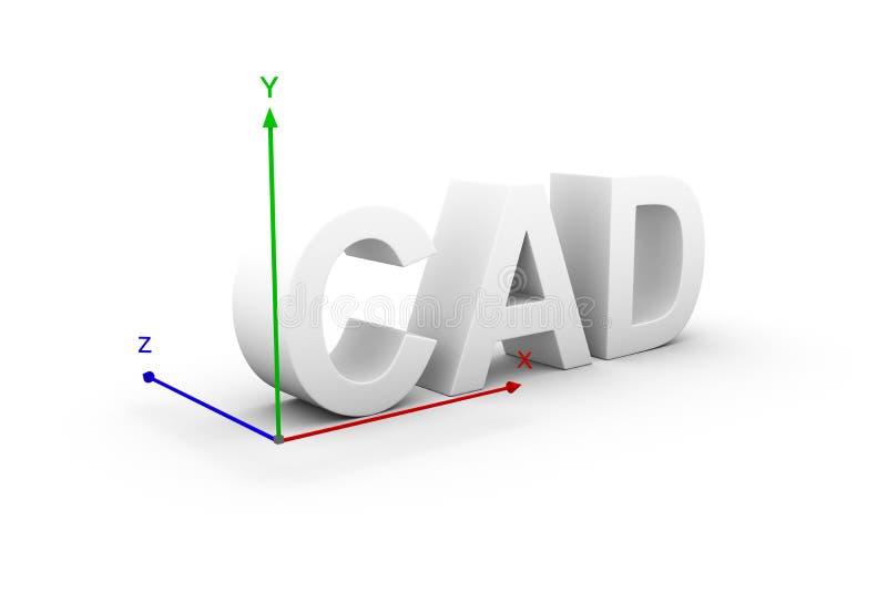 cad иллюстрация вектора