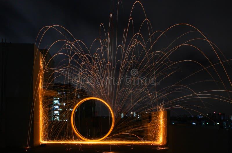 Cada luz lleva el rayo de esperanza fotografía de archivo libre de regalías