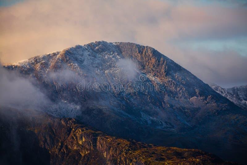 Cadair Idris山Snowdonia 免版税库存图片