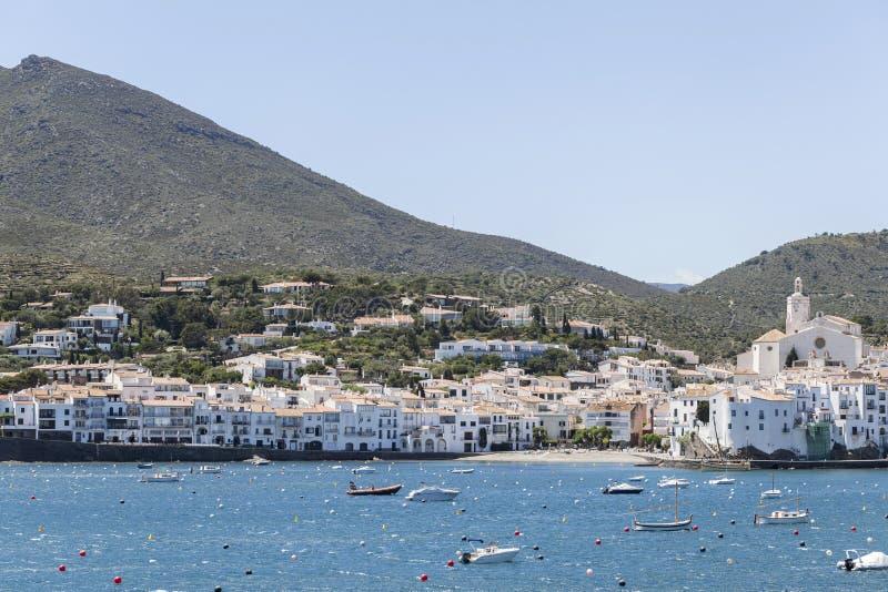 Cadaques, Costa Brava, Catalonië, Spanje royalty-vrije stock afbeeldingen