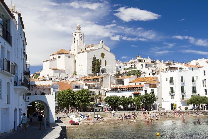 Cadaques, Costa Brava, España imagenes de archivo