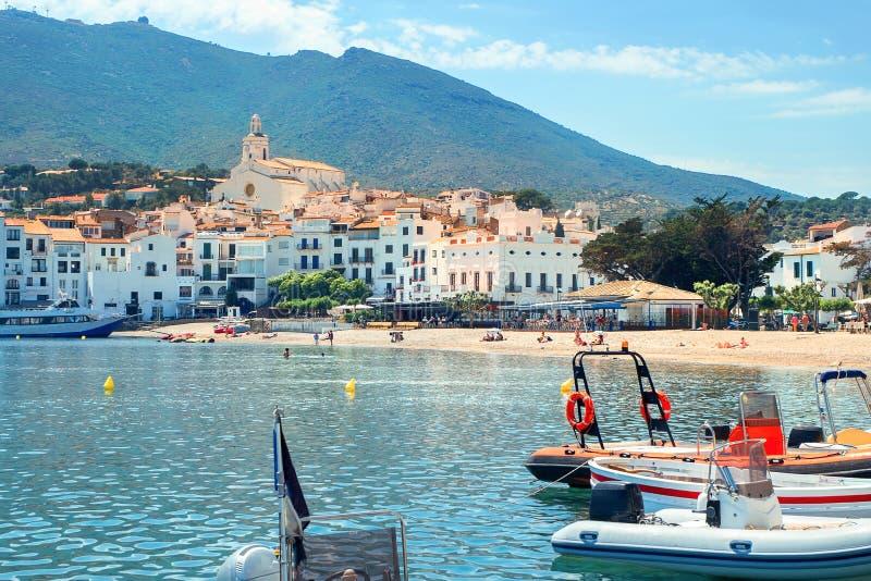 Cadaques, Costa Brava, Espagne image stock
