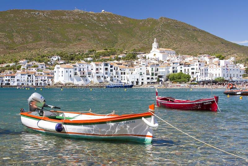 Cadaques, Costa Brava, Espanha imagens de stock royalty free