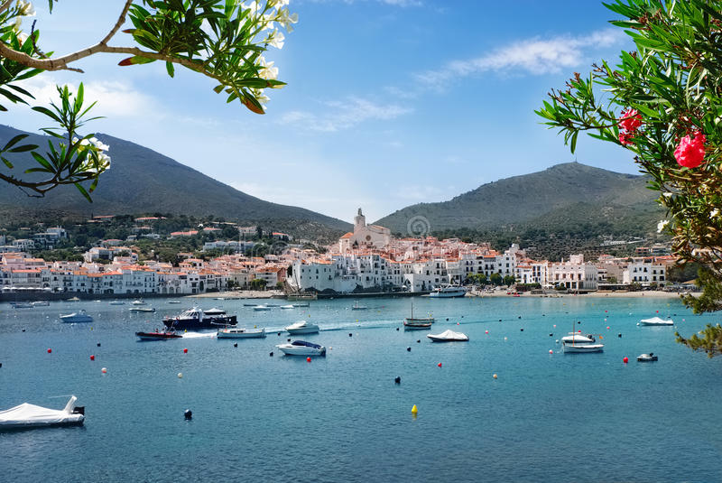 Cadaques, Costa Brava, Spain stock photos