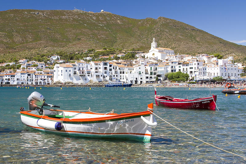 Cadaques Costa Brava, Spanien royaltyfria bilder