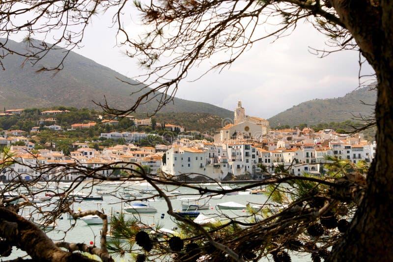 CADAQUES - Costa Brava - Spanien royaltyfria foton