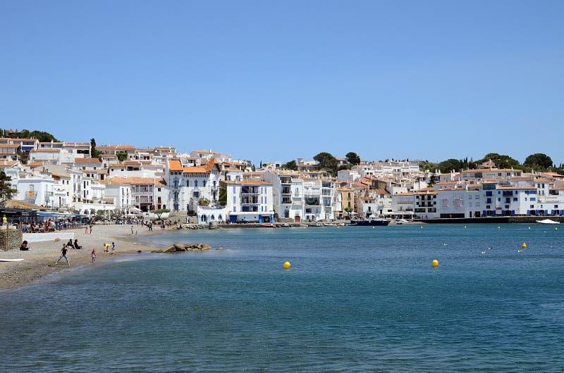 Cadaques Costa Brava, Spanien fotografering för bildbyråer
