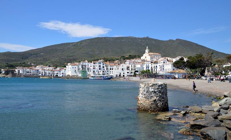 Cadaques Costa Brava, Spanien arkivfoto